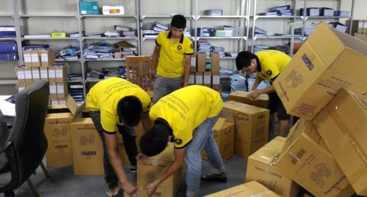 Dịch vụ chuyển văn phòng trọn gói chuyên nghiệp
