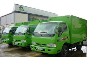 Taxi tải Kiến Vàng vận chuyển đồ 24h giá rẻ tại Hà Nội